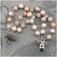 3 strand keepsake bracelet with 10-12 mm memory beads