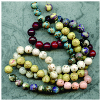 poly clay memorial beads